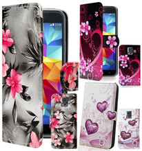 New Leather Wallet Case Cover For Samsung Galaxy S5 i9600