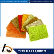 China manufacturer anti slip branded door mats