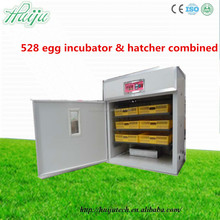 high hatching rate chicken egg incubator hatching machine combined 528 capacity
