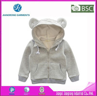 High Quality 80 Cotton 20 Polyester Hoodies Wholesale Children Plain Hoodies For Kids