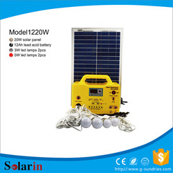 Quality and quantity assured 20w solar system solar charger