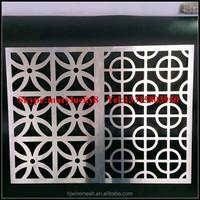 Laser cut decorative screen for wall art/Decorative laser cut