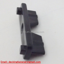 Plastic clip for all kinds of outdoor deck