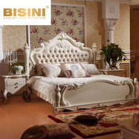 Bisini French Style Classic White Bedroom Furniture