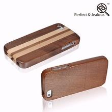 New design Custom logo trendy wood phone case for iphone5/5s