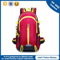 fashion designer pattern sports bag&backpack for women