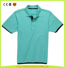 Custom Men High Quality Soft Polo Shirt, Short Sleeve Cotton Polo T-shirt