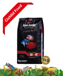 Aqua master Aquarium fish food Series: High protein suitable for each kind of Cichlid fish food 1kg