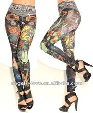 Colorful Marine Fashion Legging A11077