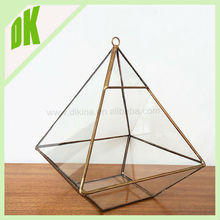 (DK brand)- bulk glass candlestick holders // Festival Decor A style Bulk european family geometric clear glass candlestick