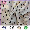 Black polyester mesh fabric for dress home textile upholstery
