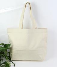 Wholesale Promotional Plain Cotton Tote Canvas Duffel Bag