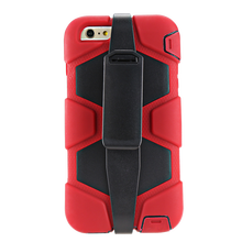 Newest style dustproof very popular silicon thick phone case for iPhone6 Plus