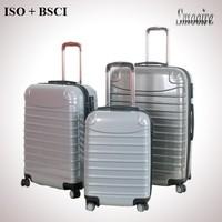 hot sell PC 4 wheels aluminum trolley case