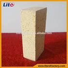 alta temperatura suportável tipos de refratários de alta alumina tijolos para venda