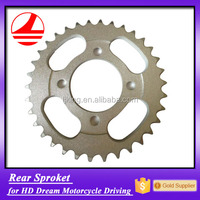 Factory Wholesale Cheap HD Dream Motorcycle 34 Teeth Driving Chain and Sprocket
