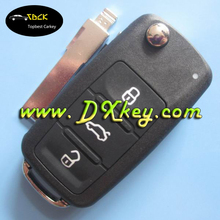 New stype for vw golf remote key 3 buttons flip remote Key 433MHz 5K0 959 753 AB FOR Sagitar,polo.golf id48 chip