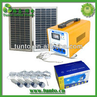 16W portable panel solar kit, solar power generator, solar energy system