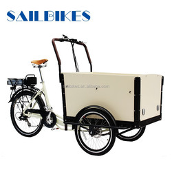hot sale front cargo bike tricycle jx-t05 for sale