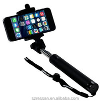 wireless selfie stick ,Wireless Mobile phone Selfie Stick Cheap Monopod for Photograph , selfie stick with mirror foldable clip