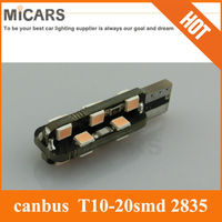 Canbus 8smd t10 2835 car cree auto led lamp