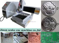 300x300mm/400x400mm Cheap Mini 5 Axis CNC Router Machine