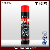 Hot sale Car Cleaner 650ml Tire Polish