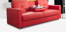 Modern Fashion Red Color Relaxing Sofa Italian Sofa Bed Folding Sofa Bed