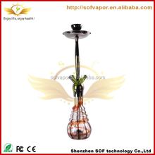 2012 wholesale electronic hookah shisha white ceramic bowl cshishastal cross dshisha fruit tray