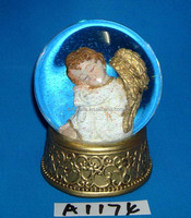 2014 Christmas decorative angel water globe