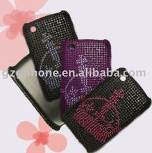 high quality mobile phone PC case for Blackberry 8520 with bling