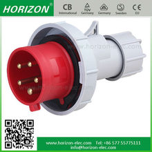 2015 new type high strength waterproof three-phase plug industrial