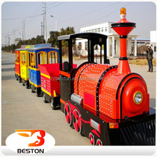 Best sell over many countries amusement ride the train