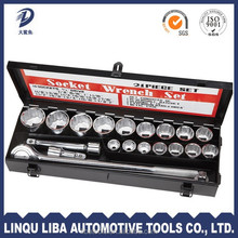 tire changing hand tool 21 piece socket set