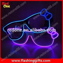 la luz el ecualizador vasos para mostrar el partido funky gafas de partido