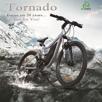 Tornado,September issue electric mountain bike with best frame
