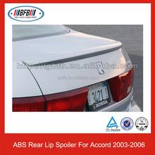 For Honda Accord Rear Lip Spoiler 2003-2006 ABS Car Spoiler
