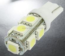RV LED Light interior lamp 12V DC SMD5050 lighting T10 168 LED Wedge Car LED Map Dome License Plate Bulb