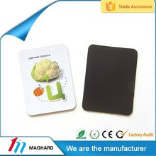 High Quality Cheap Custom rubber fridge magnets,flat fridge magnet
