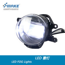 HOT SELL led fog lamp with Q5 lens for TOYOTA WISH DRL Super bright and high power