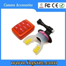 Wholesale go pro mouth for go pro heros 4 3+ 3 2 1 go pro mouth mount