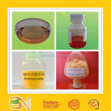 Nitenpyram insecticide mainly used for rice, vegetables and other control sucking mouthparts of insects.