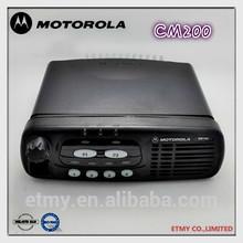 hot sale motorola CM200 uhf vhf original car radio