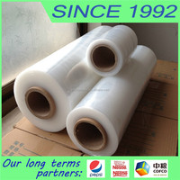 Transparency Shrink Stretch hand Wrap film