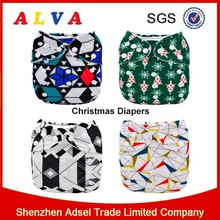 Waterproof Printed Pul Diaper Fabric For Baby Diaper Printed Patterned Pul Fabric