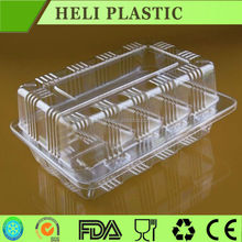disposable PVC plastic food boxes/cases