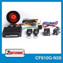 most popular china factory best manufacturer auto car trunk security alarms system with side door delay