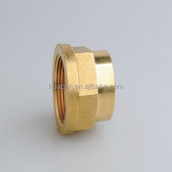 Brass welding joint quick connector connect copper pipe for Connecting copper pipe to pvc