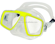 diving mask set silicone diving glasses for adult