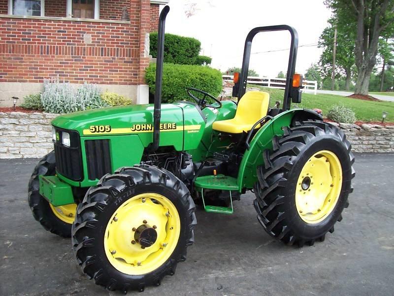 John Deere 5403 Tractor 4x4 : John deere tractor sharp buy
